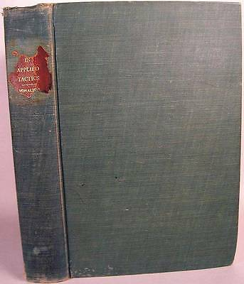 Von Alten Applied Tactics Reconaissance/Cavalry WWI Germany-SIGNED by US Officer