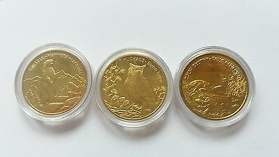 Set of 3 Polish 2 zlote commemorative coins