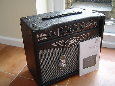 Peavey Royal 8 Valve King 5 Watt Guitar Amplifier in Pristine Condition