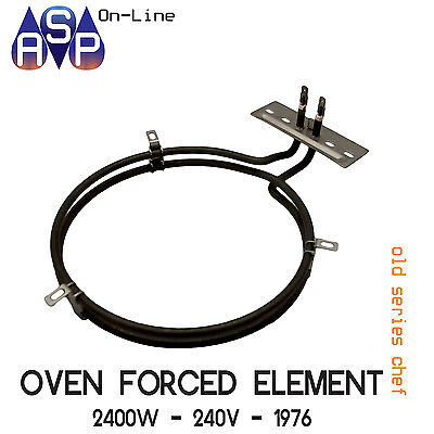 Chef Fan Forced Oven Element 2400W - 240V - Part 36758 # 1976