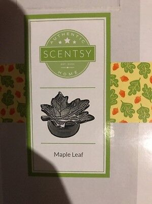 Gently Used Scentsy Maple Leaf Warmer Discontinued *rare*
