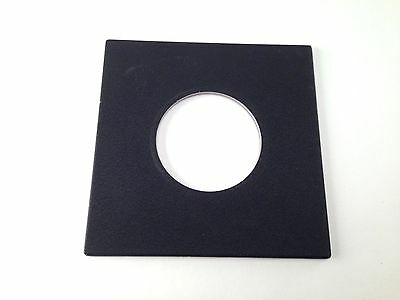 Original Sinar Lens Board Copal #3 for Sinar Horseman, Lens hole diameter 65 mm