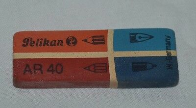 Vintage and Original Pelikan AR 40 AR40 with 4 Using Type Eraser / Rubber