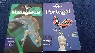 Lonely Planet - Portugal and Madagascar Books
