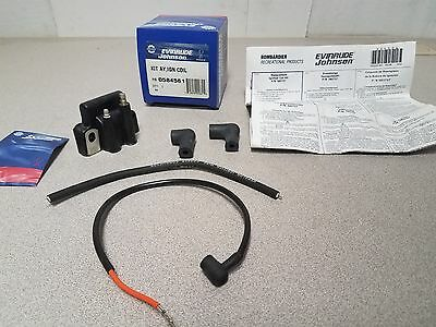 New Genuine OEM OMC Evinrude 0584561 Ignition Coil Kit Assembly