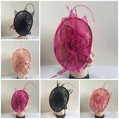 Elegant Headband Fascinator Hat Alice band Wedding,Royal Ascot Race Ladies Day