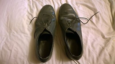 Mens Lawn Bowling Shoes - Leather Upper - Made In England - 33Cm Long