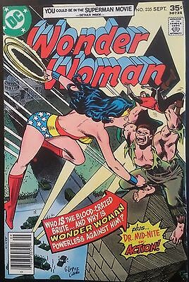 WONDER WOMAN #235 Cover Containing MARVEL TEAM-UP #61 Guts FN Error!!!