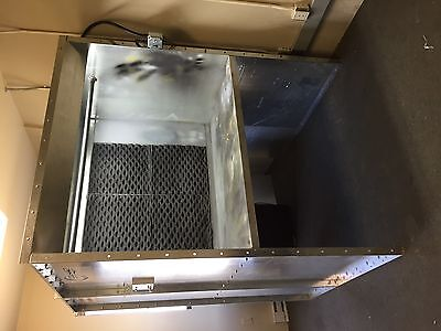 Col-Met Open Front Bench Spray Booth Paint Powder Coating Exhaust Tubeaxial Fan