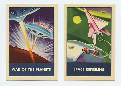 F280-3 1953 Chex Space Patrol cards