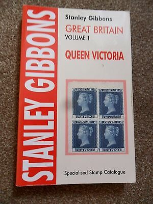 Great Britain Queen Victoria Stamp Catalogue Vol 1 - Stanley Gibbons