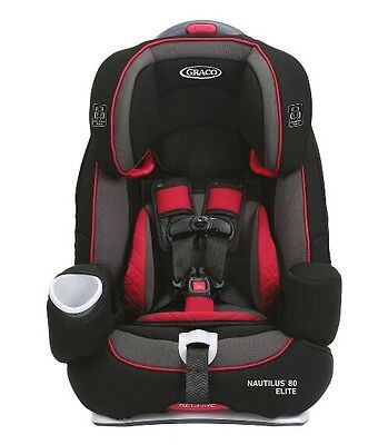 NEW Graco NAUTILUS 80 Elite 3-in-1 Harness Booster Convertible 1964110 CHILIRED>
