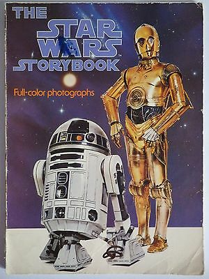 Vintage Star Wars Storybook Book Full Color Photographs Scholastic Book Services