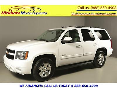 """2010 Chevrolet Tahoe 2010 LT LEATHER PWR SEATS 8PASS 17""""ALLOYS 2010 CHEVROLET TAHOE LT LEATHER PWR SEATS 8PASS 17""""ALLOYS WHITE"""