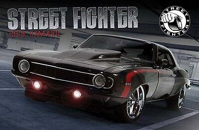 1969 Camaro Street Fighter in 1:18 Scale by GMP Diecast Model