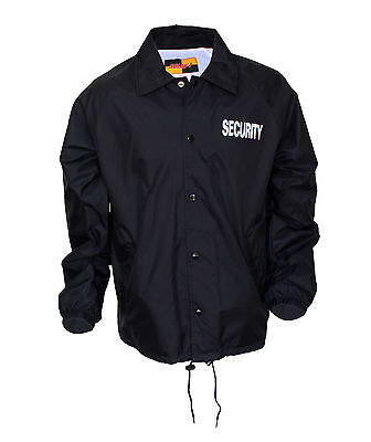 Solar 1 Clothing Coaches Windbreaker with Screen Printing Security WB02