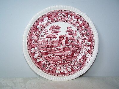 Beautiful Copeland Spode Pink Tower 6 1/2'' Bread And Butter Plate