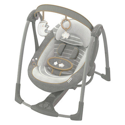 Ingenuity Boutique Series Power Adapt Portable Swing - NEW