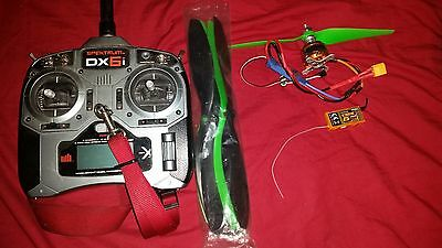 Spektrum DX6I (Mode 2) transmitter and Receiver bundle