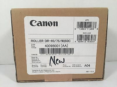 Canon Exchange Roller Kit DR-60/75-/9050C 4009B001 Genuine