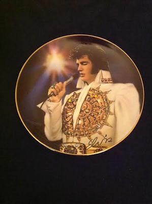 "Elvis Presily ""the Dream"" Collector Plate Bradford Exchange New - Boxed"