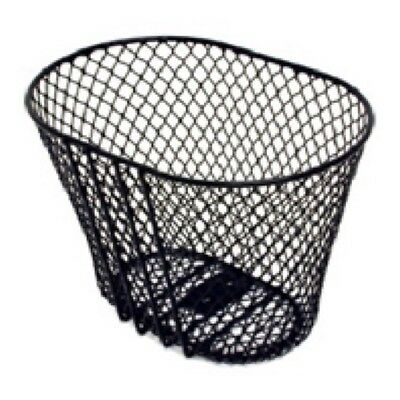 Brand new Girls Bike Basket Front Mesh supplied with fittings black for Bicycle