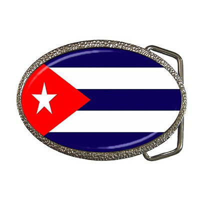Cuba Cuban Country National Flag Belt Buckle - Great Gift Item