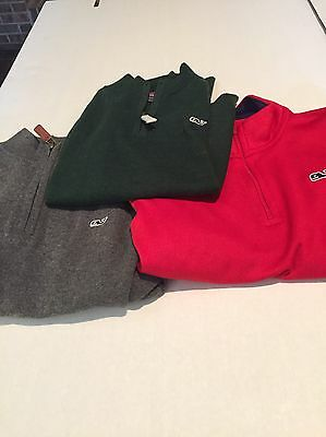 Vineyard Vines Kids Pullover Half Zip Lot 7 Youth New