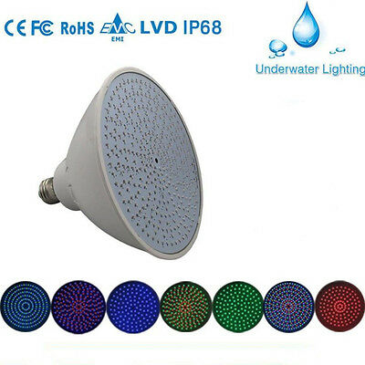 12V 24W RGB Swimming Pool LED Light Bulb underwater lights for Pentair Hayward