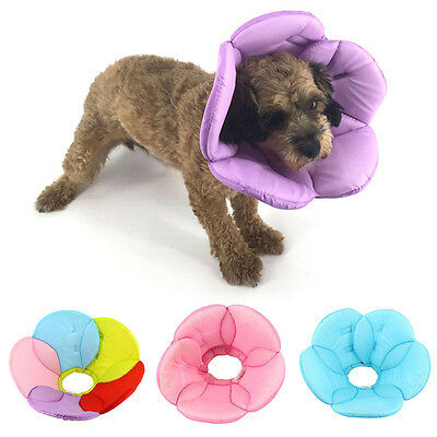Pet Elizabethan Collar Dog Cat Recovery E-Collar Wound Healing Cone Stop Biting