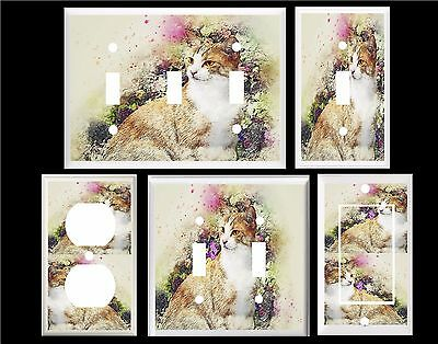 Lights Switch Cat Switch Stickers Wall Stickers Home Decoration - Vinyl-decals-to-decorate-light-switches-and-outlets