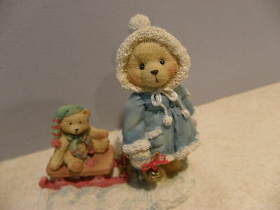 Cherished Teddies MARY - A SPECIAL FRIEND WARMS THE SEASON