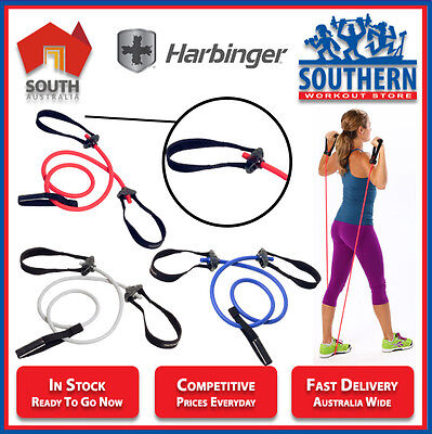Harbinger Resistance Tubes PowerAmp Full Body Toning Fitness Durable Grip