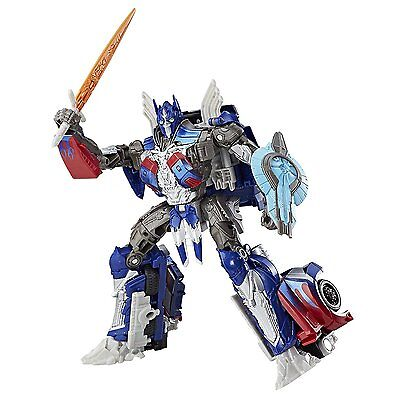 Transformers Last Knight Premier Voyager Optimus Prime Ages 8+ Toy Robot Boys