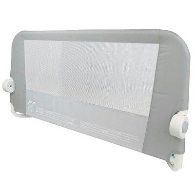 Brand New without Packaging - Lindam Easy Fit Bed Guard in Grey for Single Bed