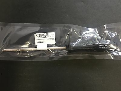 HOZAN Phillips Screwdriver Plus + No.0 100mm D-540-100 MADE IN JAPAN