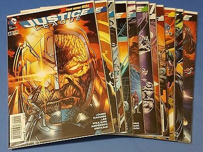 Justice League #40-50 Darkseid War New 52 VF-NM DC Comics Uncertified