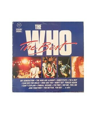 "[GU01298] The Who ""The Best""  - LP, Comp Polydor, Polydor 847315-1, 847 315-1"