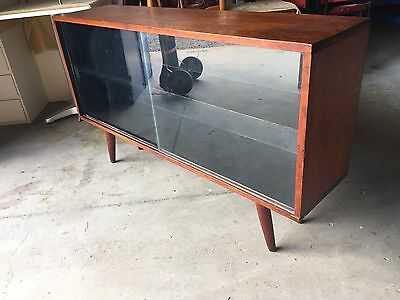 Retro Mid Century Sideboard Display Cabinet With Cigar Legs - Buy Now.