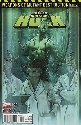 Totally Awesome Hulk #20 Wmd Marvel Comics 6/28/17 Near Mint