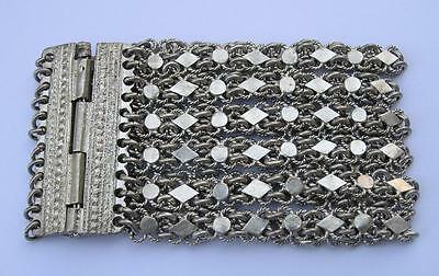 ANTIQUE OTTOMAN EMPIRE/TURKEY WOMEN'S SILVER BRACELET 19th CENTURY