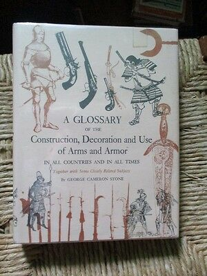 Stones Glossary Of Arms & Armour