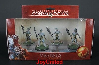 RACKHAM CONFRONTATION Wolfen of Yllia Vestals Unit Box Game Figure WFRE04