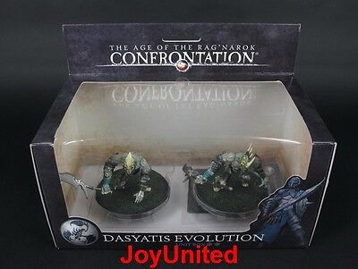 RACKHAM CONFRONTATION Scorpions Dasyatis Evolution Unit Box Game Figure SCEL05