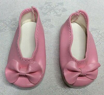 """Handmade Dolls Clothes To Fit 13""""  Little Baby Born -  Pink  Shoes"""