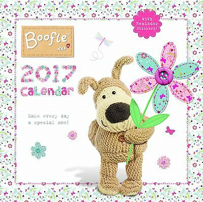 Boofle Square Calendar with Stickers 2017 - C16003