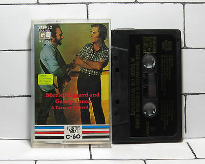 Merle Haggard & George Jones - A Taste Of Yesterday - Cassette Tape - Album