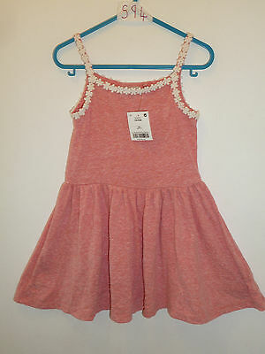 NEXT - Lovely Girls Coral Summer Sleeveless Dress 3 Years SMALL Outfit NEW