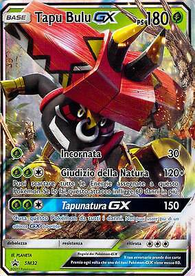 Pokemon: Carta Tapu Bulu Gx - Promo Blackstar Sm32 In Italiano