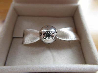 PANDORA 925 Sterling Silver & Diamante Walt Disney World Charm